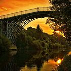 MORNING IRONBRIDGE  by Withinlandscape Phil Child