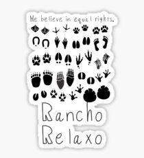 Classic Rancho Relaxo Sticker