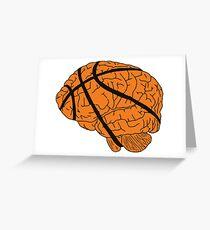 Basketball Head! Greeting Card