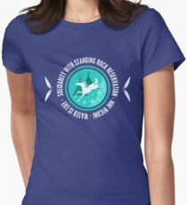 Solidarity With Standing Rock Shirt Women's Fitted T-Shirt