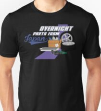 Overnight Parts From Japan Unisex T-Shirt