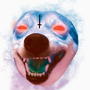 Satan Doge  by MrCrowz