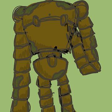 Robot by Britisaur