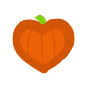Halloween Pumpkin Heart by cduby
