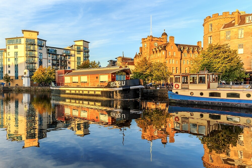 The Water of Leith at the Shore, Edinburgh by photographybyMG