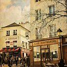 Café Montmartre by dawne polis
