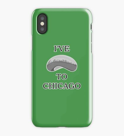 I've Bean To Chicago iPhone Case