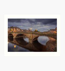 Ouse Bridge York Art Print