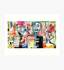 We are Still Philistines, After Basquiat Art Print