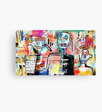 We are Still Philistines, After Basquiat Canvas Print