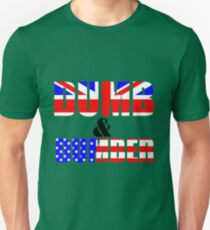 USA & UK a race to the bottom Unisex T-Shirt