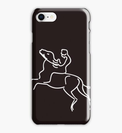 Jockey on a Horse VRS2 iPhone Case/Skin