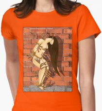 TRAPPED_Portrait of a Chronic Pain Patient Womens Fitted T-Shirt