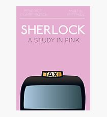 Sherlock - A Study in Pink Photographic Print