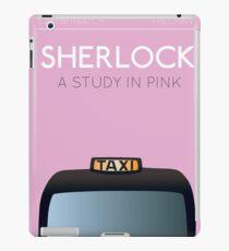 Sherlock - A Study in Pink iPad Case/Skin