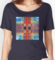 ERQ#2 - Abstract Watercolor by Dan Vera Women's Relaxed Fit T-Shirt