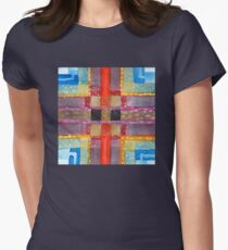 ERQ#2 - Abstract Watercolor by Dan Vera Women's Fitted T-Shirt