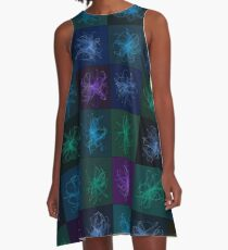 Squiggles A-Line Dress