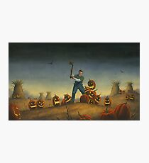 Night of the Jack-O-Laterns Photographic Print