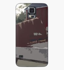 Horse Fence Case/Skin for Samsung Galaxy