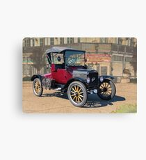 1919 Ford Model T Roadster 'T 4 2' Canvas Print
