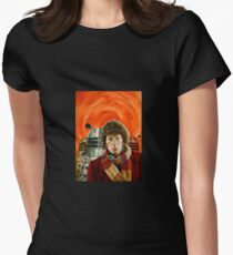 Doctor Who by Terry Oakes Womens Fitted T-Shirt