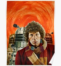 Doctor Who by Terry Oakes Poster