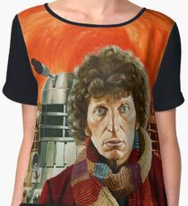 Doctor Who by Terry Oakes Chiffon Top