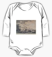 270 Launch of the Steamship Frigate Fulton at New York 29th Oct 1814 NY One Piece - Long Sleeve