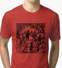 Dance with the Devil  Tri-blend T-Shirt