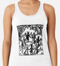 Dance with the Devil  Racerback Tank Top