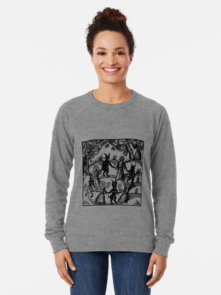 Alternate view of Dance with the Devil  Lightweight Sweatshirt