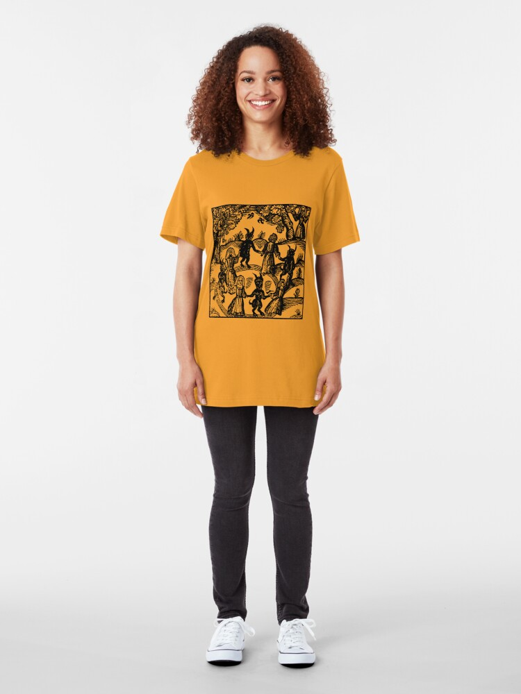 Alternate view of Dance with the Devil  Slim Fit T-Shirt
