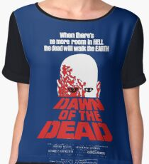 romero cult movie dawn of the  dead Chiffon Top