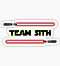 Team Sith Sticker