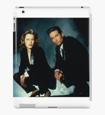 X-Files -Mulder and Scully iPad Case/Skin