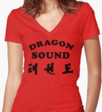 Dragon Sound - Miami Connection's newest house band! Women's Fitted V-Neck T-Shirt