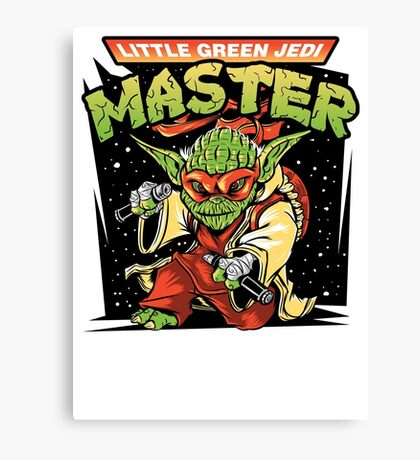 Ooze The Force Canvas Print