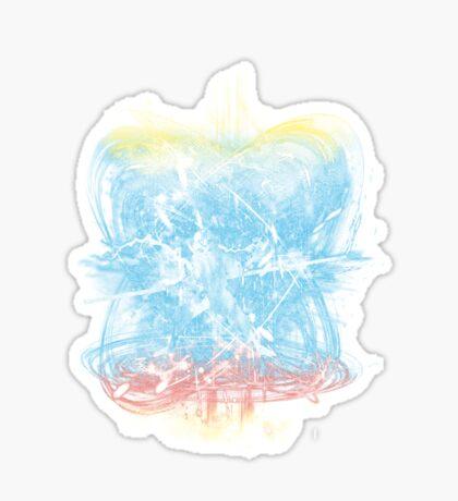 elemental storm Sticker