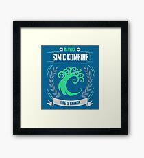 MTG: Simic Combine Framed Print