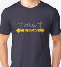 BE NEGATIVE (4) Slim Fit T-Shirt