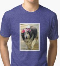 Leo from Old Friends Senior Dog Sanctuary Tri-blend T-Shirt