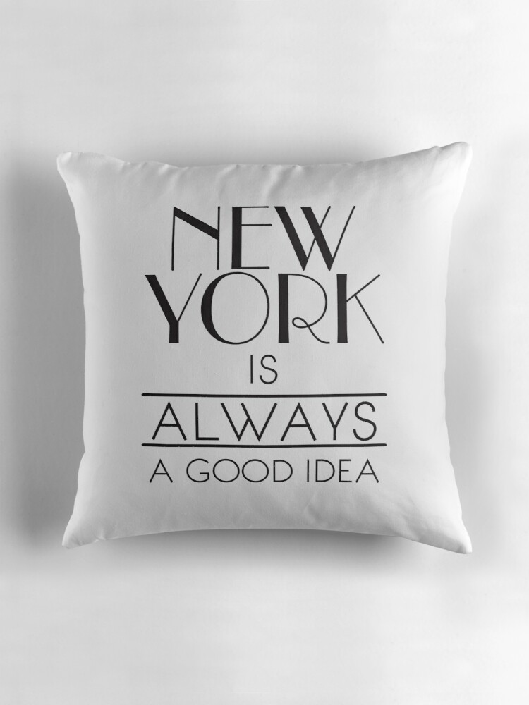 New york is always a good idea by funkingonuts