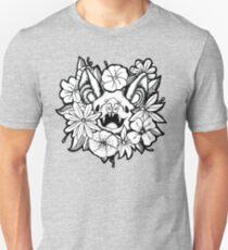 Happy Floral Bat Unisex T-Shirt
