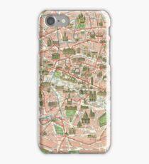 Vintage Map of Paris (1920)  iPhone Case/Skin