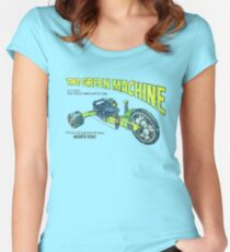 The Green Machine Women's Fitted Scoop T-Shirt