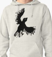 splatter bird Pullover Hoodie