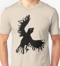 splatter bird Unisex T-Shirt