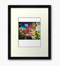 MASSACRE Framed Print