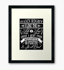 Biggie Everyday Struggle Framed Print